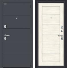 Металлическая дверь Porta S 4.Л22 Graphite Pro/Nordic Oak