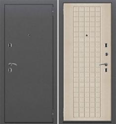 Металлическая дверь Термо 207 Антик Серебро/Oak Light
