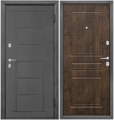 Металлическая дверь Промет Практик Тиковое Дерево