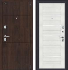 Металлическая дверь Porta S 4.П22 Almon 28/Bianco Veralinga