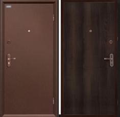 Металлическая дверь Ультра Про Антик Медь/Венге