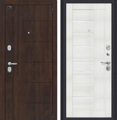 Металлическая дверь Porta S 9.П29 Almon 28/Bianco Veralinga