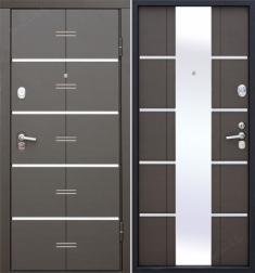 Металлическая дверь Гарда AltaTech Венге