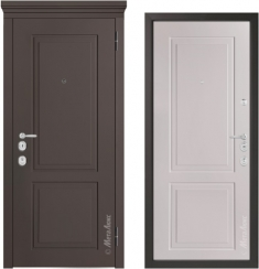 Металлическая дверь Металюкс  М1012/10 Е