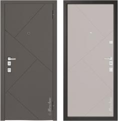 Металлическая дверь Металюкс М1100/7 Е