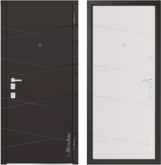 Металлическая дверь Металюкс М1104/1 Е