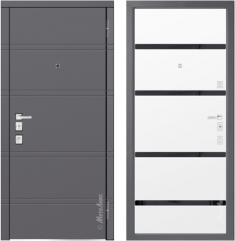 Металлическая дверь Металюкс М1300/3