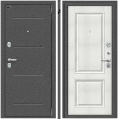Металлическая дверь Porta S 104.К32 Антик Серебро/Bianco Veralinga