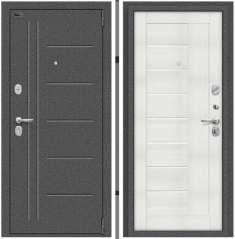 Металлическая дверь Porta S 109.П29 Антик Серебро/Bianco Veralinga