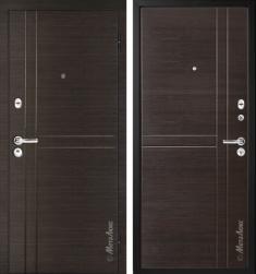 Металлическая дверь Металюкс М32/1