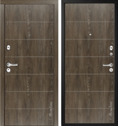 Стальная дверь Металюкс М54