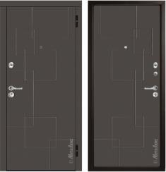 Стальная дверь Металюкс М55/2