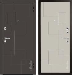 Металлическая дверь Металюкс М55/3