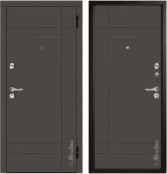 Стальная дверь Металюкс М57/2