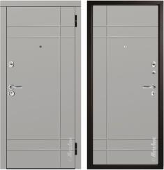 Стальная дверь Металюкс М57/4