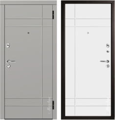 Металлическая дверь Металюкс М57/5