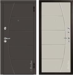 Металлическая дверь Металюкс М58/3