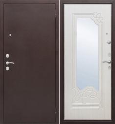Металлическая дверь Гарда Ампир Белый ясень