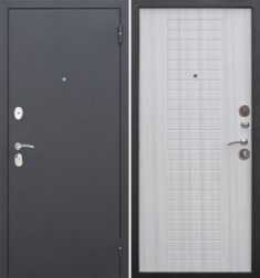 Металлическая дверь Гарда муар 8 мм Дуб сонома