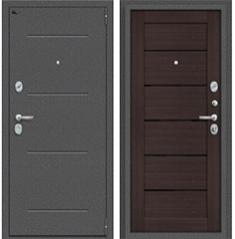Металлическая дверь Porta S 104.П22 Антик Серебро/Wenge Veralinga