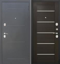 Металлическая дверь Гарда муар царга Венге