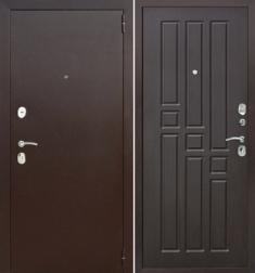 Металлическая дверь Гарда 8 мм Венге