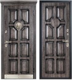 Стальная дверь Металюкс М707/4 с капителью
