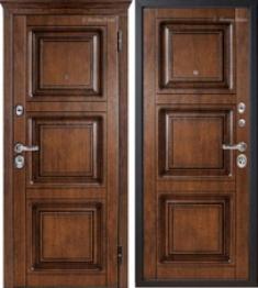 Стальная дверь Металюкс М705 с капителью