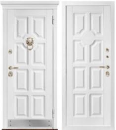 Металлическая дверь Металюкс М707 с капителью