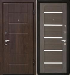 Металлическая дверь МаталЮр М7 Грей мелинга