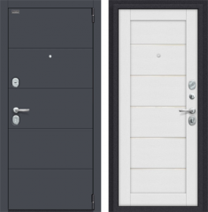 Металлическая дверь Porta S 4.Л22 Graphite Pro/Virgin