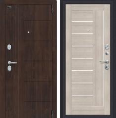 Металлическая дверь Porta S 9.П29 Almon 28/Cappuccino Veralinga