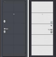 Металлическая дверь Porta S 10.П50 Graphite Pro/Nordic Oak