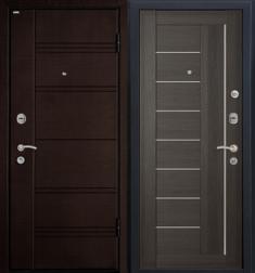 Металлическая дверь МеталЮр М17 Грей мелинга