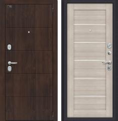 Металлическая дверь Porta S 4.П22 Almon 28/Cappuccino Veralinga