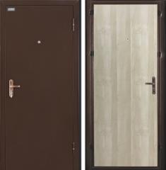 Металлическая дверь Ультра Лайт Антик Медь/Беленый Дуб