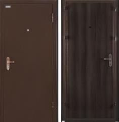 Металлическая дверь Ультра Лайт Антик Медь/Венге