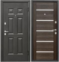 Металлическая дверь Промет Виктория Венге