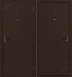 Металлическая дверь Стройгост 5-1 Медь антик