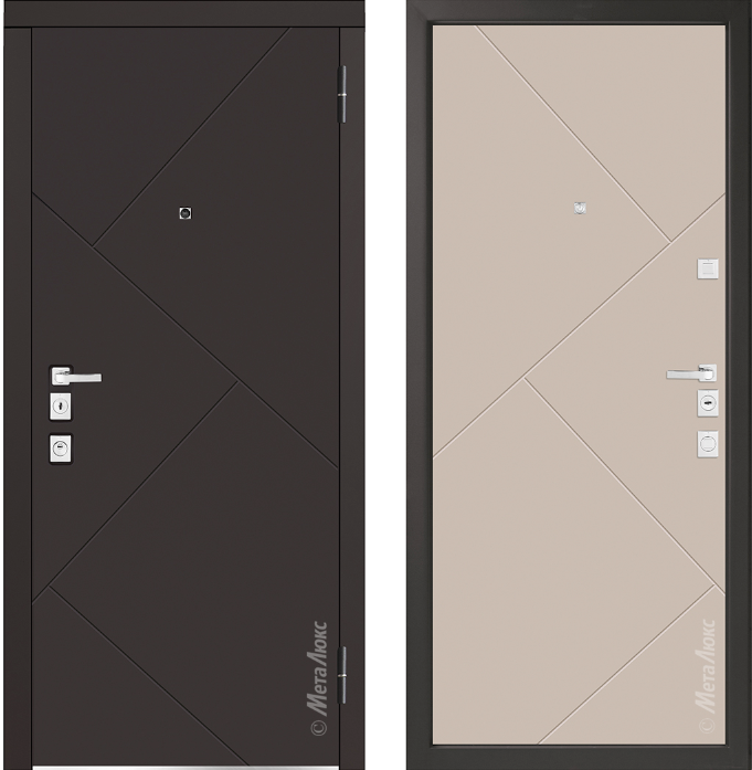 Металлическая дверь Металюкс  М1100/1 Е