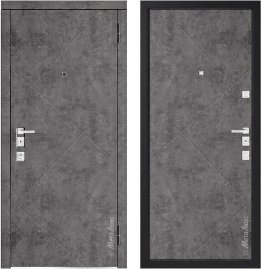 Металлическая дверь Металюкс М1100/12 Е