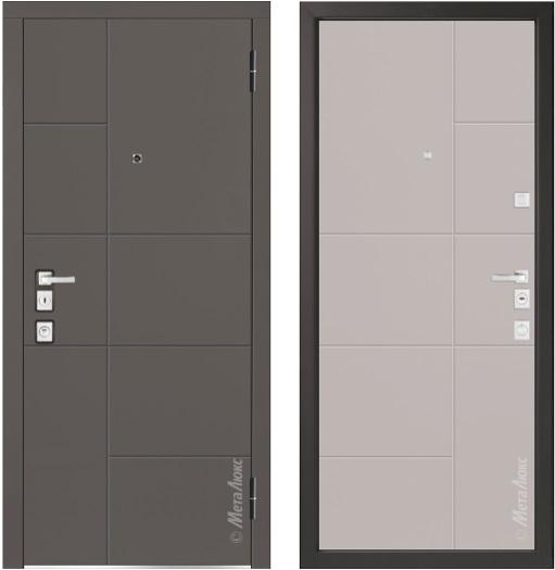 Металлическая дверь Металюкс М1101/7