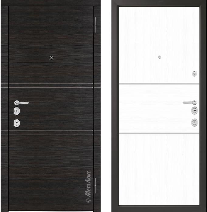 Металлическая дверь Металюкс  М1403/1