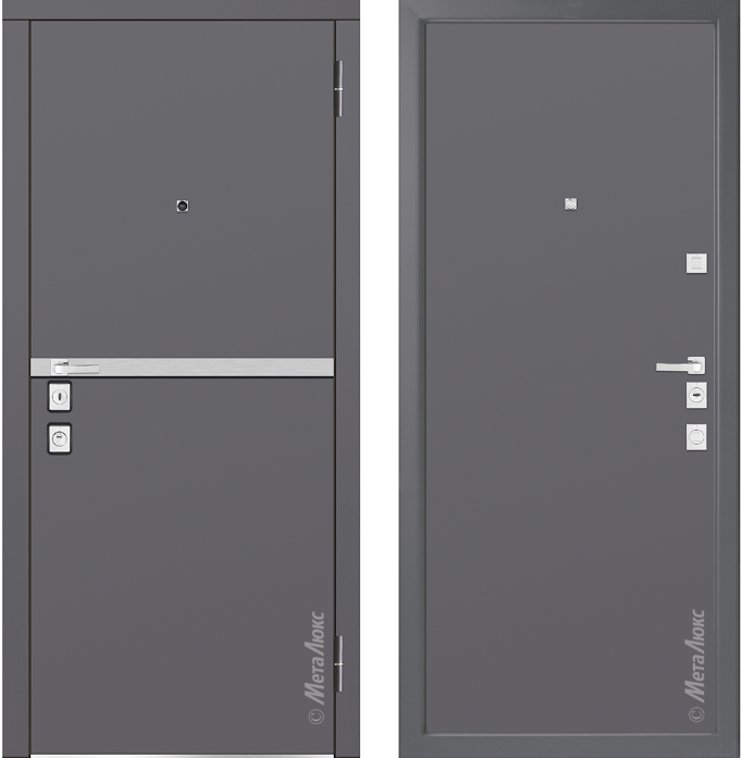 Металлическая дверь Металюкс М1404/3