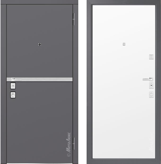 Металлическая дверь Металюкс М1404/5