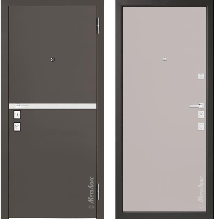 Металлическая дверь Металюкс М1404/7