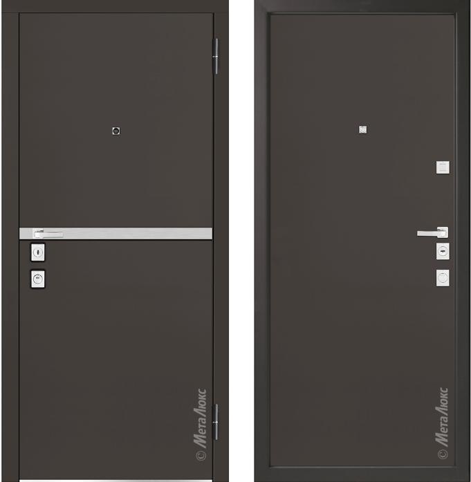 Металлическая дверь Металюкс М1404