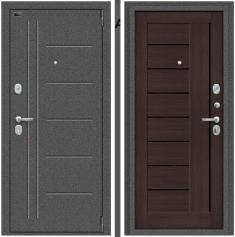 Металлическая дверь Porta S 109.П29 Антик Серебро/Wenge Veralinga