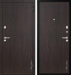 Стальная дверь Металюкс М351