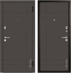 Металлическая дверь Металюкс М57/2